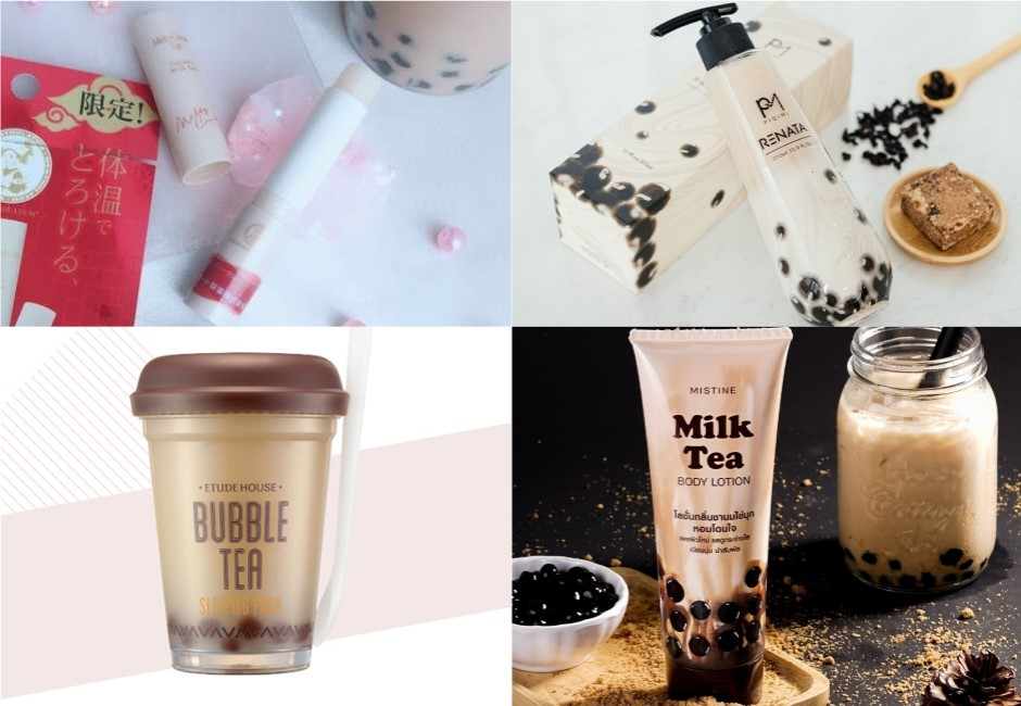 我全都要!「珍奶洗髮精」不夠看 珍奶乳液、面膜全身泡在珍奶裡