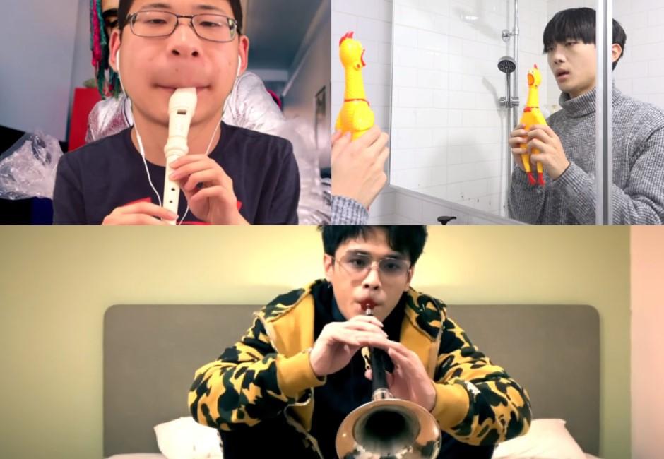 直笛、嗩吶、尖叫雞演奏出神入化!三大「超狂樂器」YouTuber
