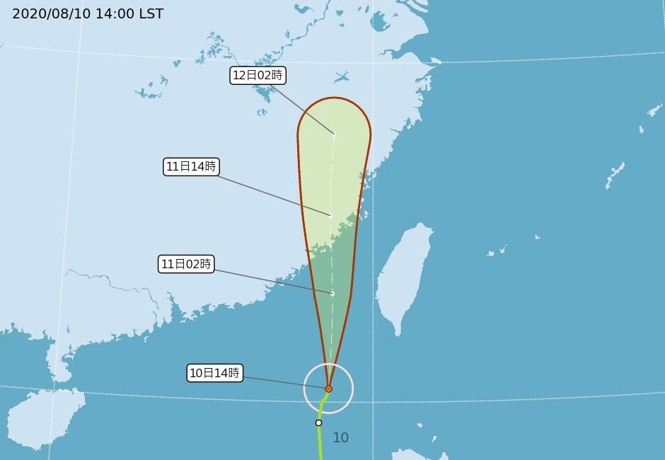 最新/澎湖今晚達停班課標準!颱風米克拉今明停班停課一覽表