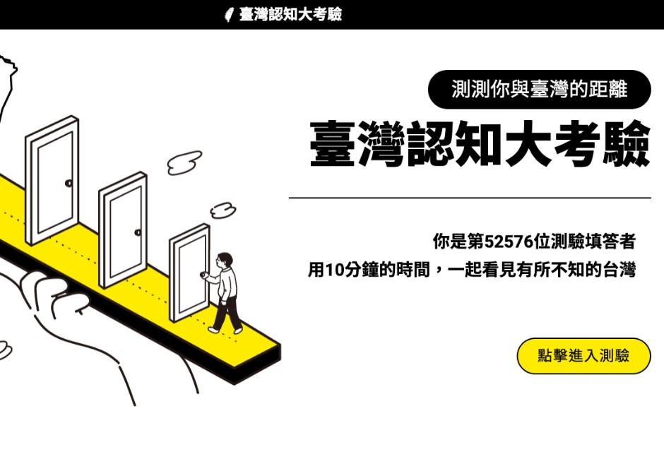 你夠台嗎?2大「爆紅測驗」網玩到崩潰:抱歉我一點也不了解台灣