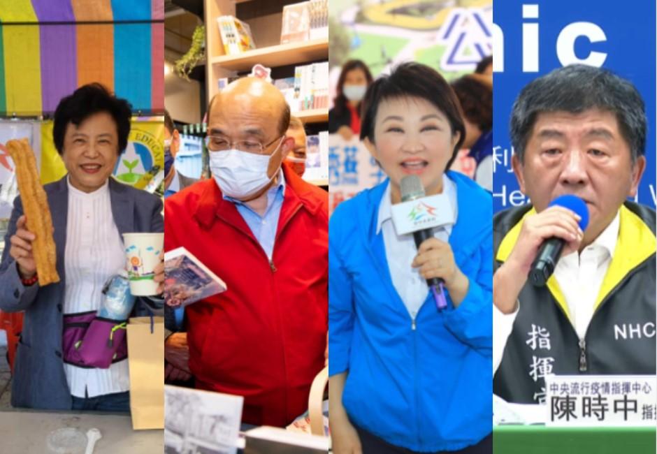 盧秀燕喊話AIT官員「拒萊豬」聲量創新高 蘇貞昌買漫畫打統編再惹議
