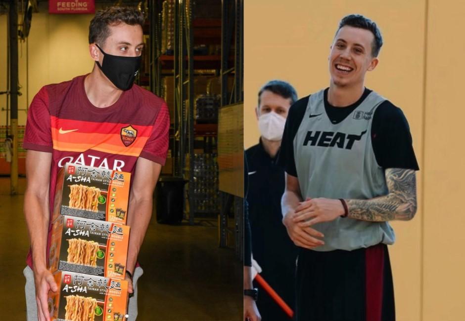 台灣味吃過難忘!NBA球員主動替「阿舍乾麵」代言 好市多扛貨捐公益網讚爆