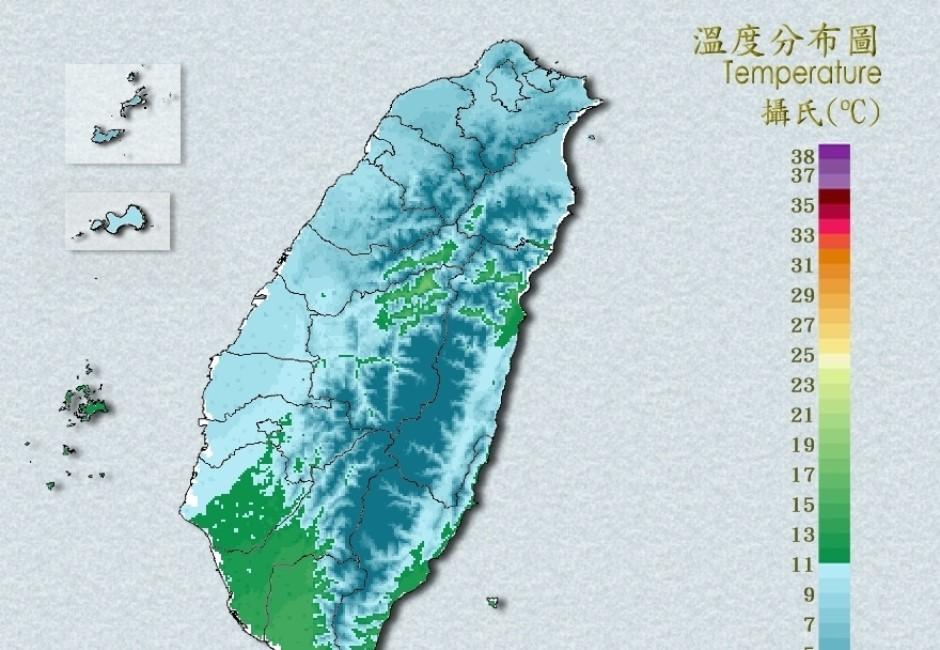 不斷更新/全台急凍!跨年氣溫爆降 山區國小陸續放「寒流假」停課