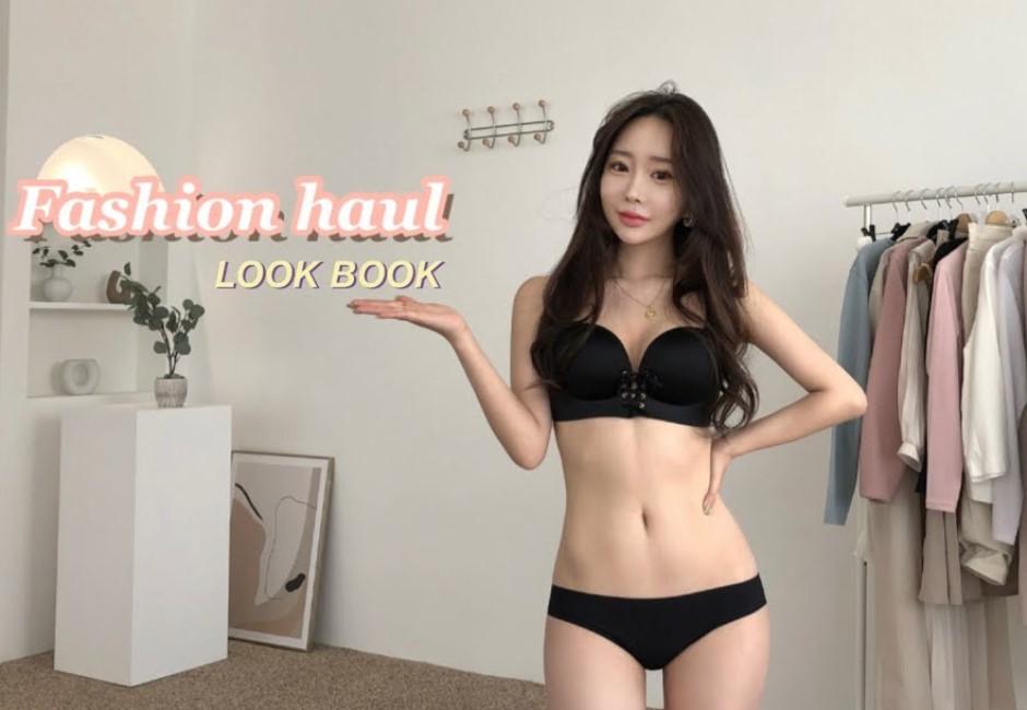 影/超養眼!韓國YT圈瘋行「一鏡到底」穿搭 僅內衣褲上陣換裝