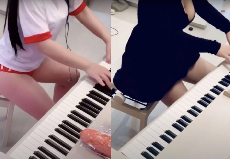 賣藝不賣臉正夯!爆乳鋼琴YouTuber超越「Pan Piano」?網一面倒:輸太多了