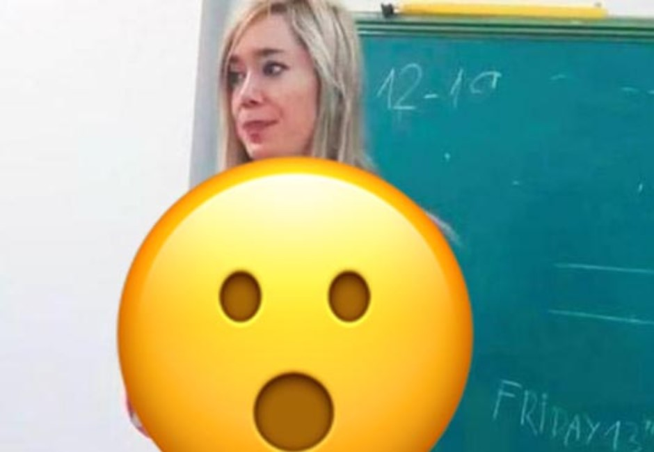 美女師「裸視裝」上生物課!創意教法驚艷網友:進擊的女老師