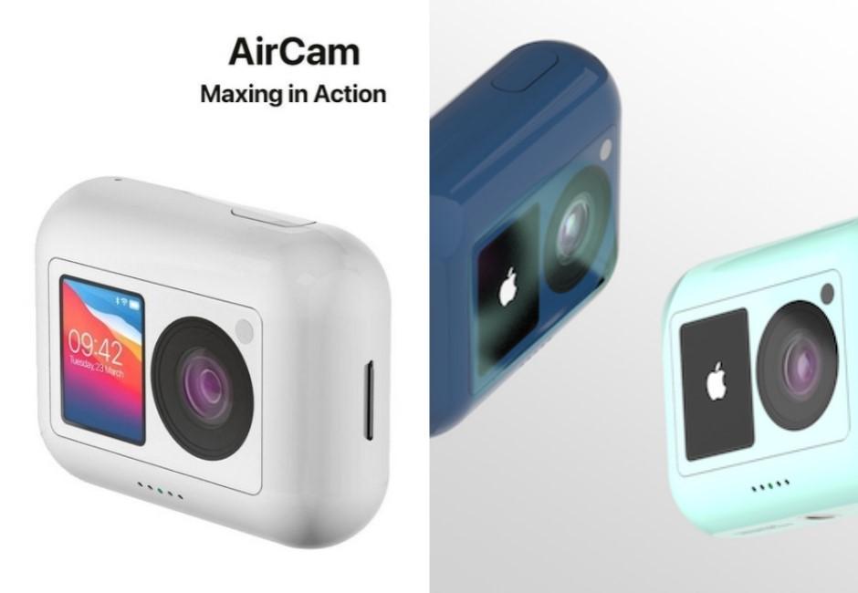 蘋果首款運動相機「AirCam」概念圖曝光!超狂「7大亮點」一次看