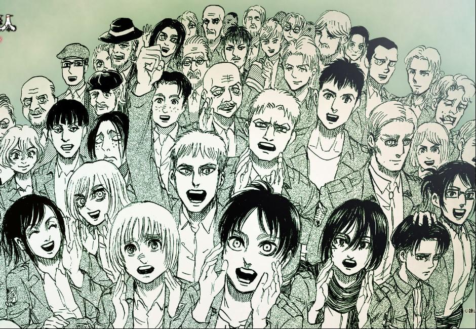 歷史會記住這一天!《進擊的巨人》最終話曝光 20倍網友湧入癱瘓東立