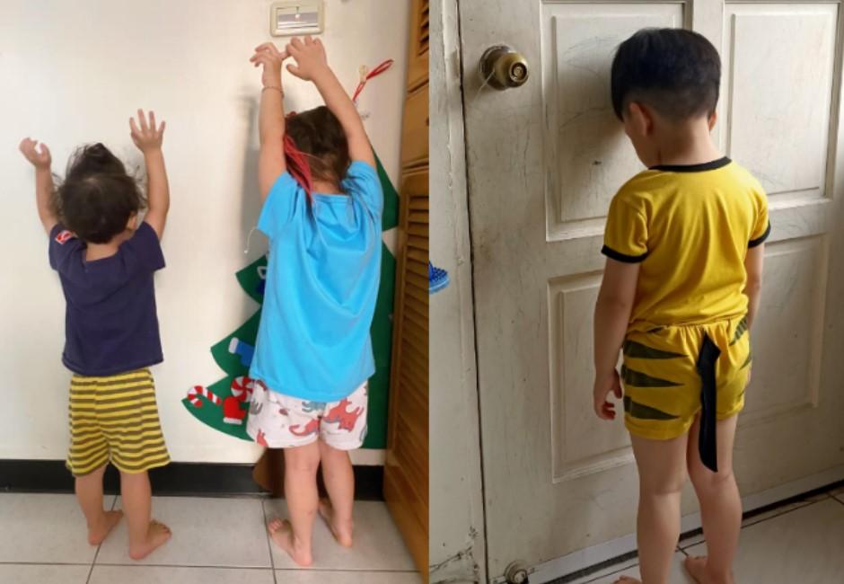 停課首日爸媽心累PO「罰站日常」 網笑:考驗親子關係的時刻
