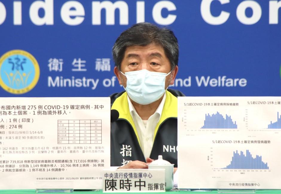 死亡數再增25名!疫苗接種順序調整 陳時中:疫情趨於平穩
