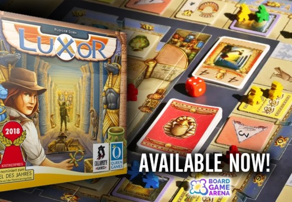 不怕沒牌咖!免費桌遊網站「Board Game Arena」 連線秒玩百款桌遊