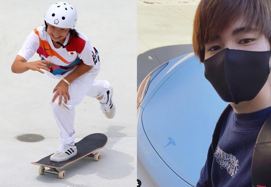 這不是動漫情節!日本小學女生拿滑板金牌 男子組冠軍 IG暴漲超越大谷翔平