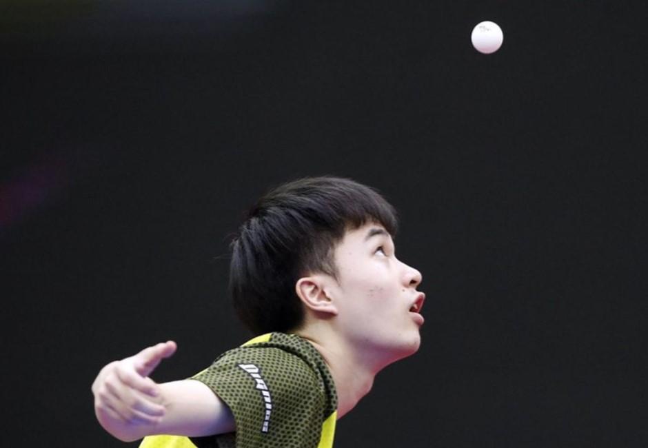 林昀儒神手感從9歲開始!拿球拍感覺「怪怪的」⋯教練撕開膠皮:真有裂痕