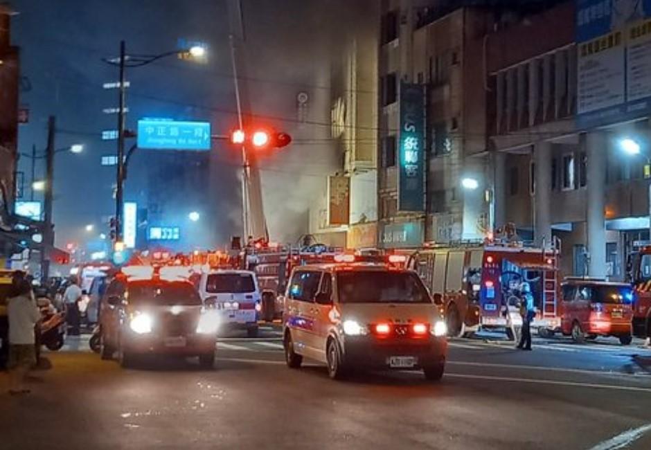 彰化防疫旅館大火!消防員衝現場殉職 網痛心《火神》這幕重演