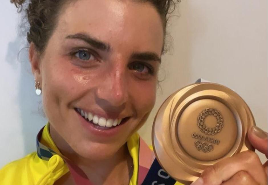 不只能保護女孩!她靠「保險套」修輕艇摘銅牌 澳選手:想不到吧