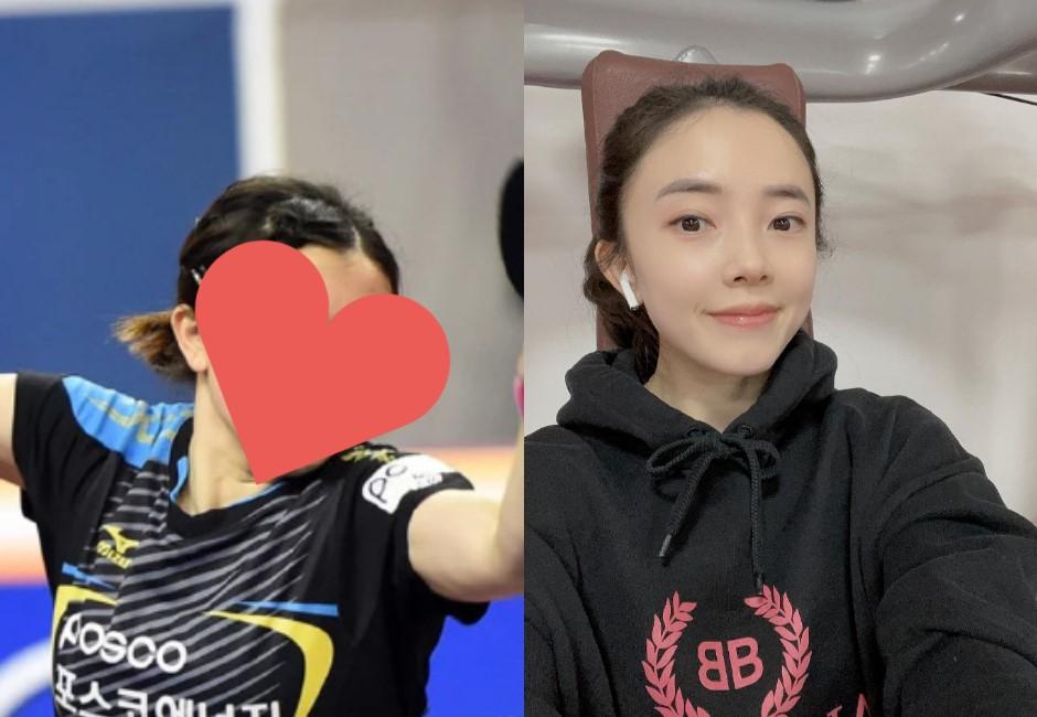 顏值變金牌!南韓中裔桌球正妹「田志希」舊照遭翻 網驚「換了一個人」本人大方認