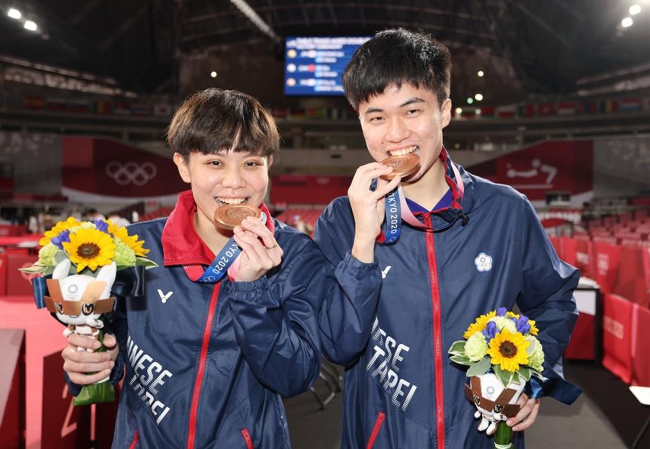 超暖心巧思!東奧獎牌用「廢電子材料」製成 得獎花束背後再藏洋蔥