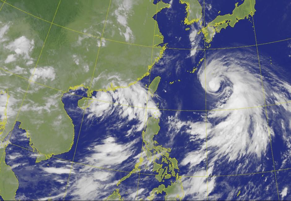 週二起北台灣有雨!「烟花」最快週三發布海警 侵襲各縣市機率曝