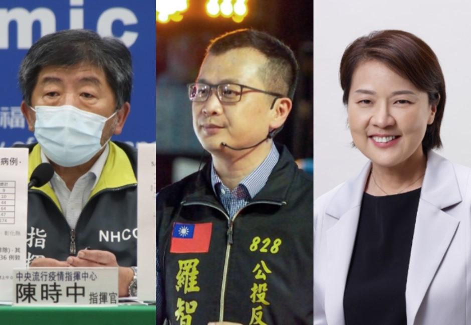 2022台北市長選戰最新民調 藍綠白各自勝出組合一次看