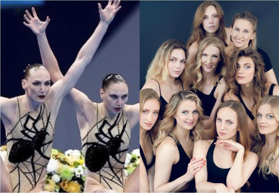 俄羅斯超強水上芭蕾女團21年沒輸過 水中維持髮型靠「果凍」原料
