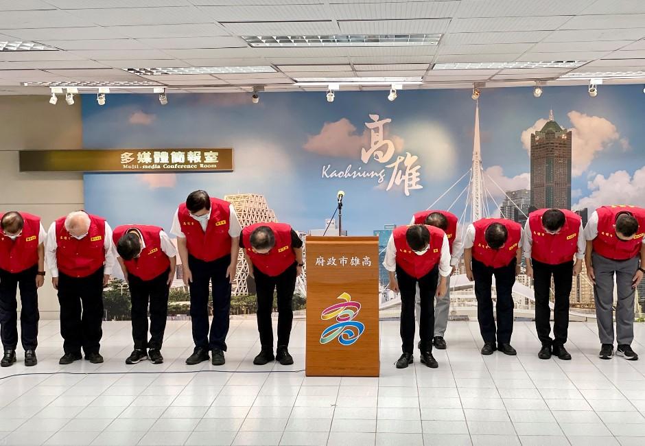 高雄城中城大火釀46死登國際新聞 陳其邁90度鞠躬道歉了