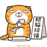麻糬爸(白爛貓)